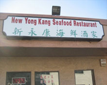TOP19: NEW YONG KANG SEAFOOD RESTAURANT(新永康海鮮酒家)