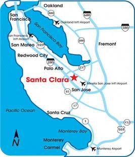 The 8th annual top 100 Chinese restaurant awards show & conferance California Map Santa Clara on