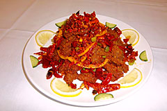 Spicy Orange Peel Beef